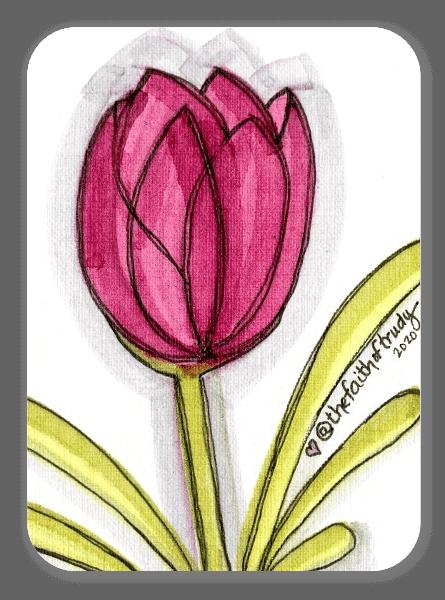 Tulipa Vermelha sticker