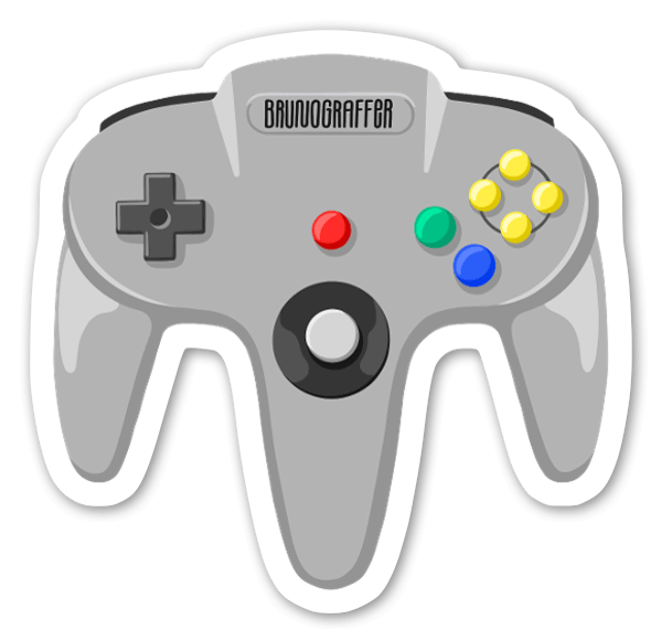 Game Cube sticker
