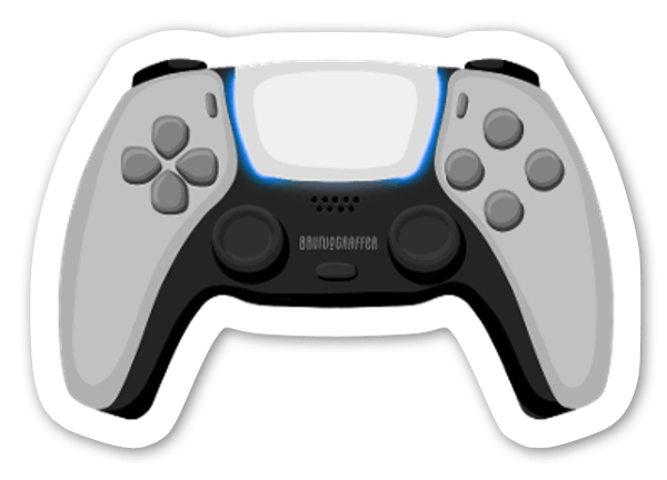 PS5 Game sticker