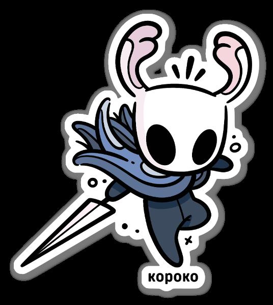 Hollow Knight sticker