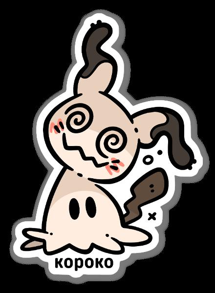 Mimiqui sticker