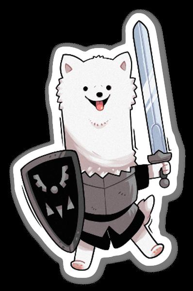 Lesser Dog sticker