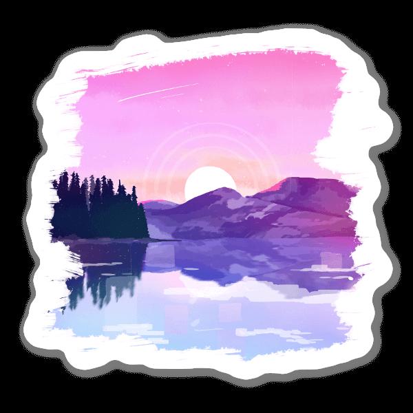Paesaggio sticker