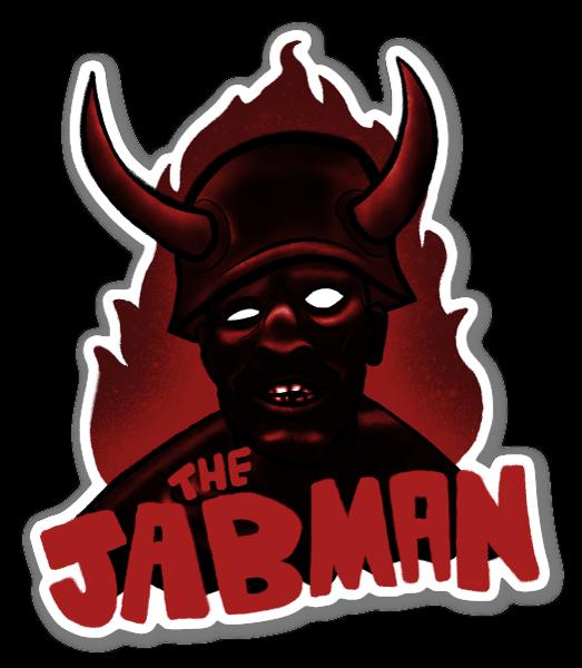 THE JAB MAN sticker