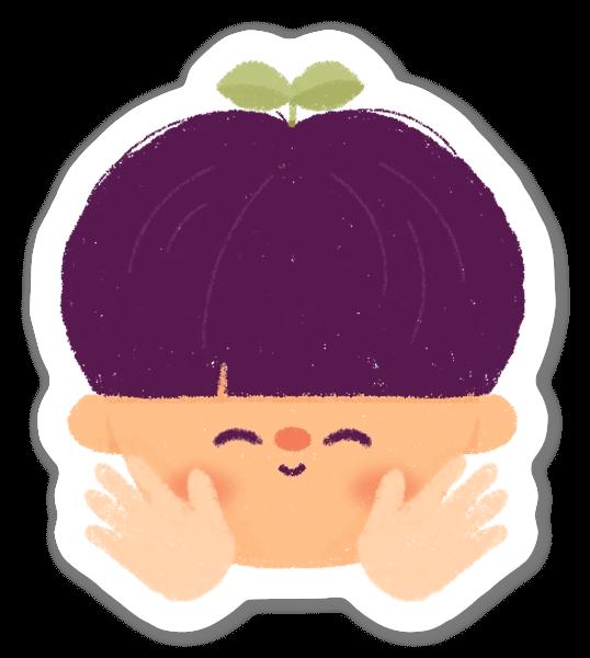Boy sticker