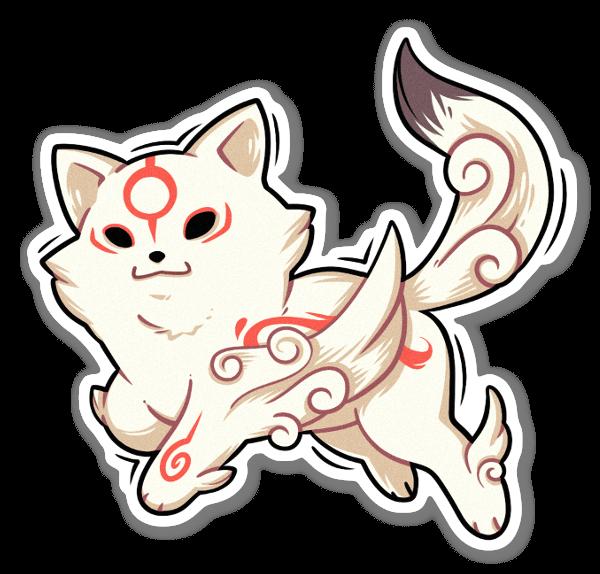 Chibiterasu sticker