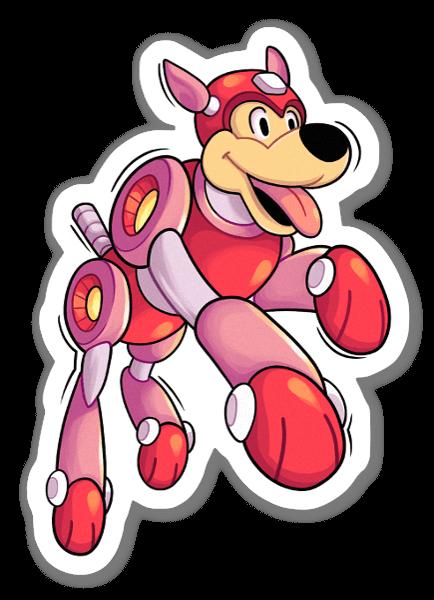 Rush sticker
