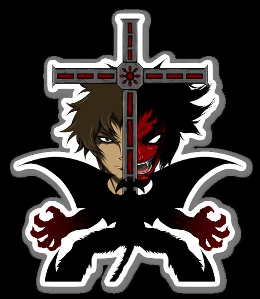Devilman sticker