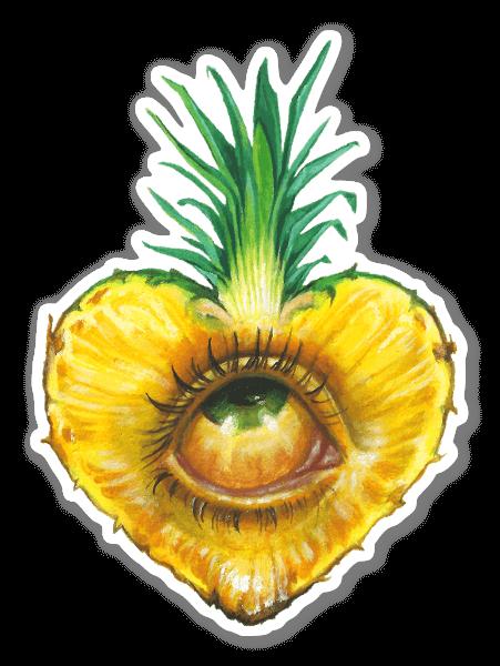 Sweet eye sticker