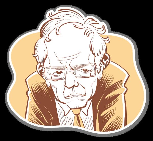 Bernie sticker
