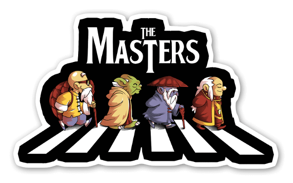 The Masters sticker