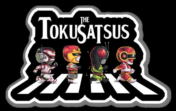 The Tokusatsus sticker