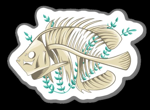Rip Fish sticker