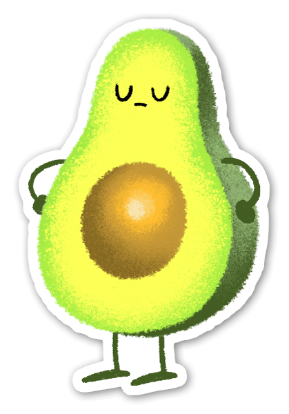 Guac Is Extra sticker