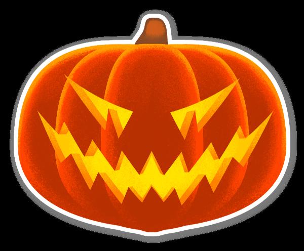 Jack-O-Lantern sticker