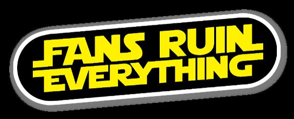 Fans Ruin Everything sticker