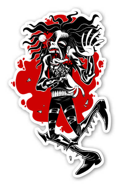 Black Metal Sucks sticker