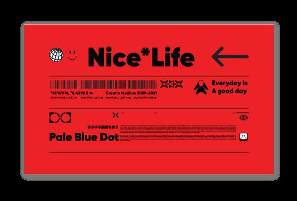 Nice Life sticker
