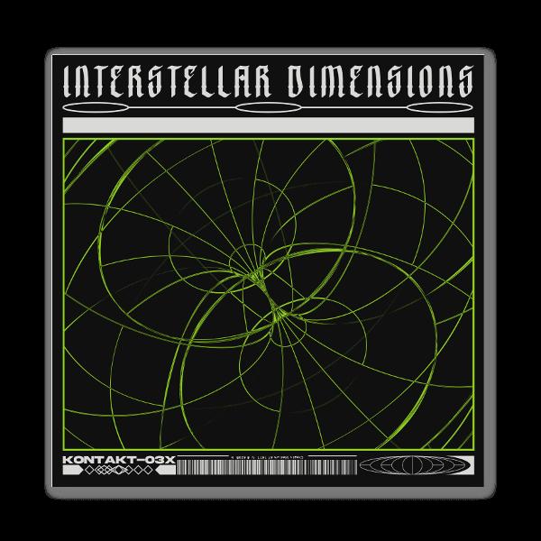Interstellar Dimension  sticker