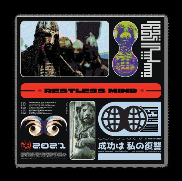 Restless Mind sticker