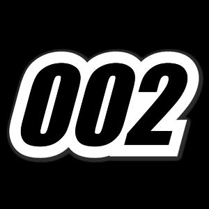 002 sticker