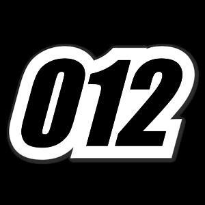 012 sticker