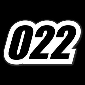 022 sticker