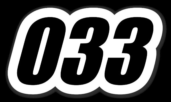 033 sticker
