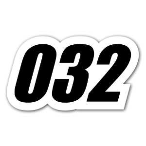 032 sticker