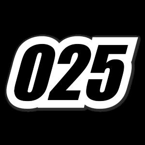 025 sticker