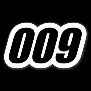 009 sticker