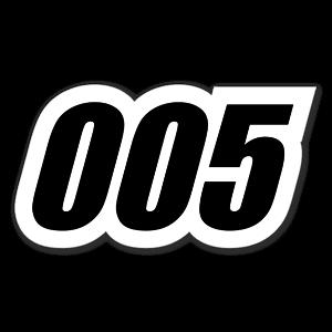 005 sticker
