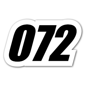 072 sticker
