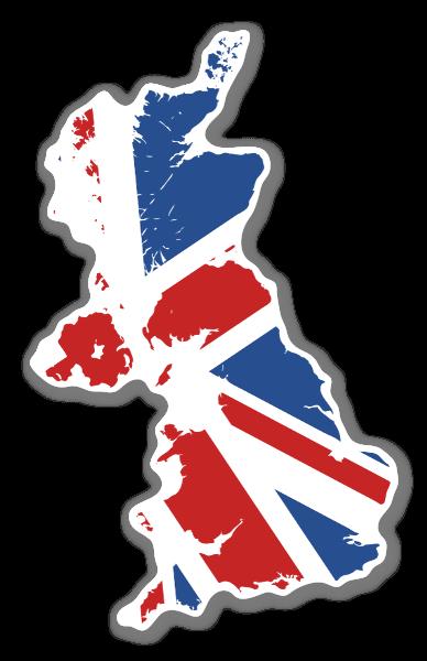 England map sticker