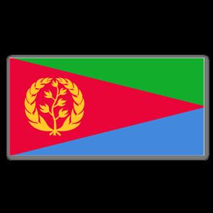 Eritrea Aufkleber