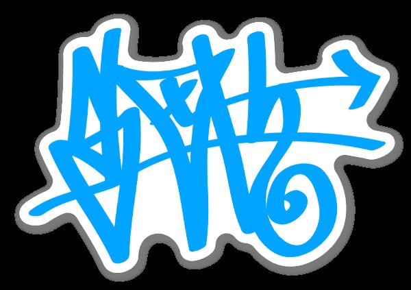 Sloth Blå Tag klistremerker