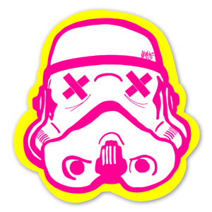 Popart Trooper sticker