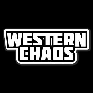 Western Caos logo sticker