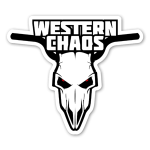 Western Caos head sticker