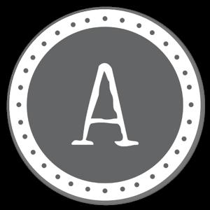 Monogram Gray A
