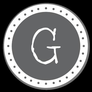 Monogram Gray G