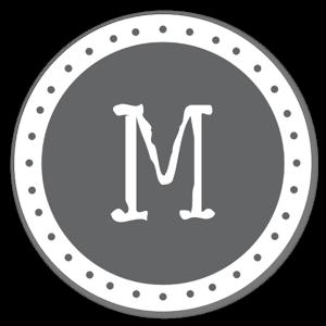 Monogram Gray M
