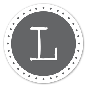 Monogram Gray L