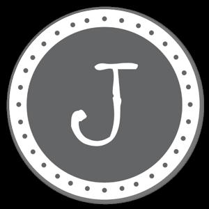 Monogram Gray J