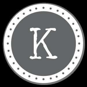 Monogram Gray K