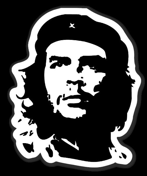 Che Guevara klistermärke sticker