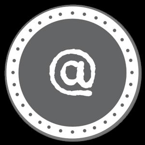 @ monogramme sticker
