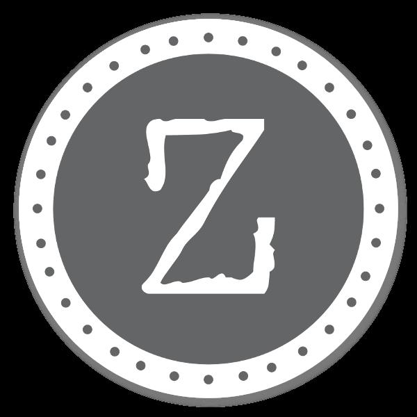 Monogram Gray Z Etiketter