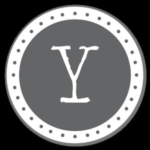 Lettre Y sticker