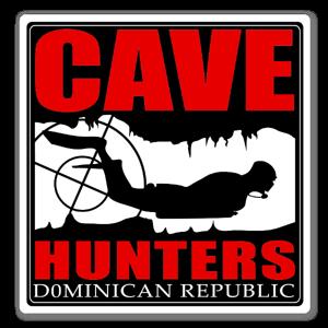 Cave hunters Dominican Republic sticker